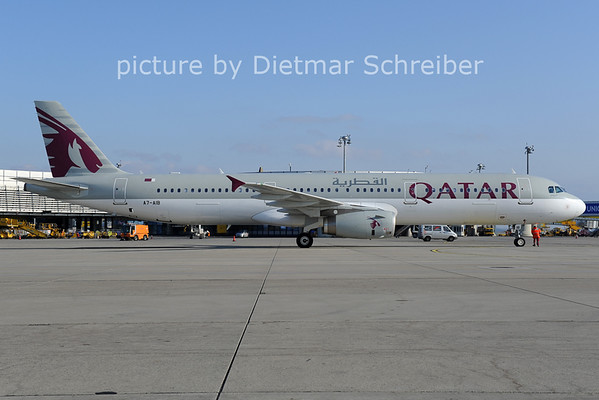 2014-02-25 A7-AIB Airbus A321 Qatar Airways