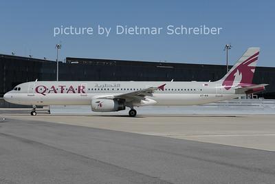 2012-08-20 A7-AIA Airbus A321 Qatar Airways