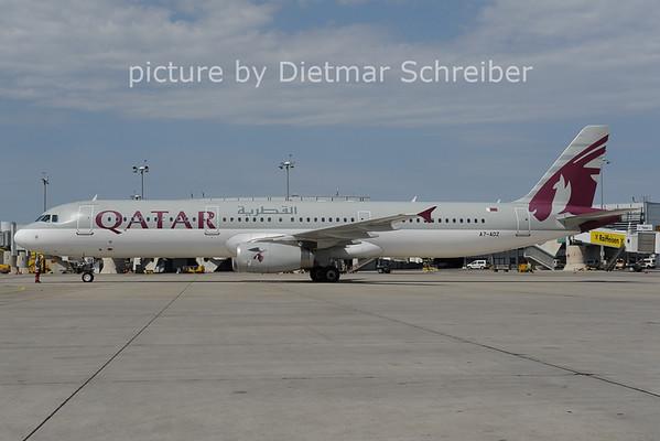2012-08-24 A7-ADZ AIrbus A321 Qatar Airways