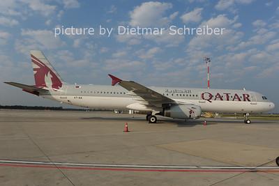 2012-09-05 A7-AIA Airbus A321 Qatar Airways