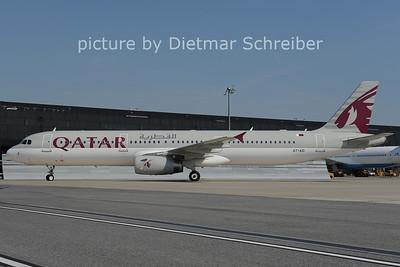 2012-09-11 A7-AID Airbus A321 Qatar Airways