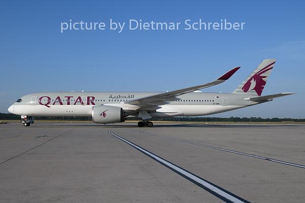 2019-07-17 A7-AMG Airbus A350-900 Qatar Airways