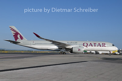 2019-07-03 A7-ALF Airbus A350-900 Qatar Airways