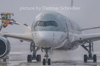 2019-01-23 A7-ALB Airbus A350-900 Qatar Airways