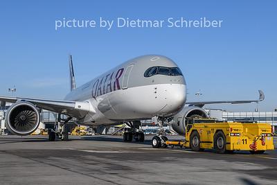 2019-01-30 A7-ALI Airbus A350-900 Qatar Airways