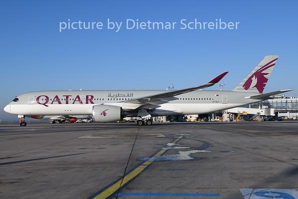 2020-01-08 A7-ALT Airbus A350-900 Qatar Airways
