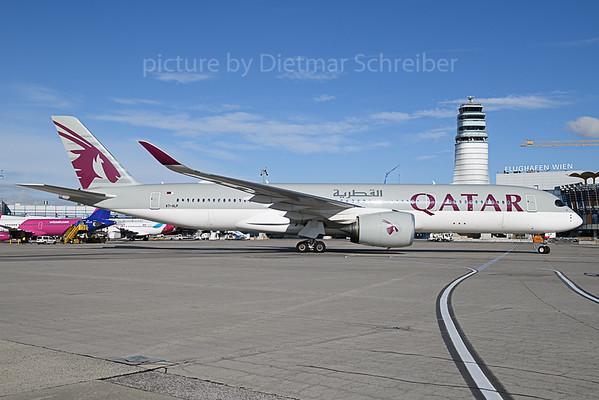 2019-11-14 A7-ALP Airbus A350-900 Qatar Airways