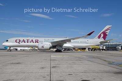 2019-06-21 A7-ALJ Airbus A350-900 Qatar Airways