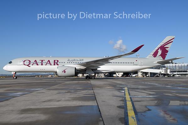 2019-11-06 A7-ALH Airbus A350-900 Qatar Airways