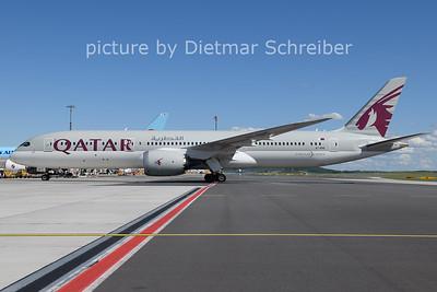 2021-05-16 A7-BHE Boeing 787-9 Qatar Airways