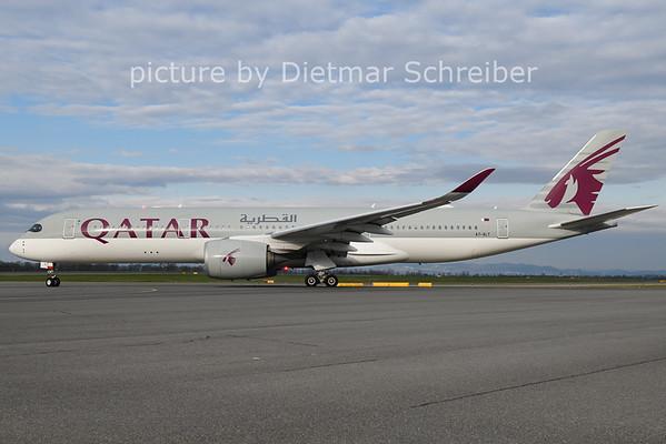 2021-04-16 A7-ALT Airbus A350-900 Qatar Airways