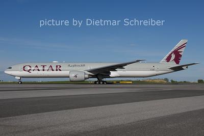 2021-05-06 A7-BEF Boeing 777-300 Qatar Airways