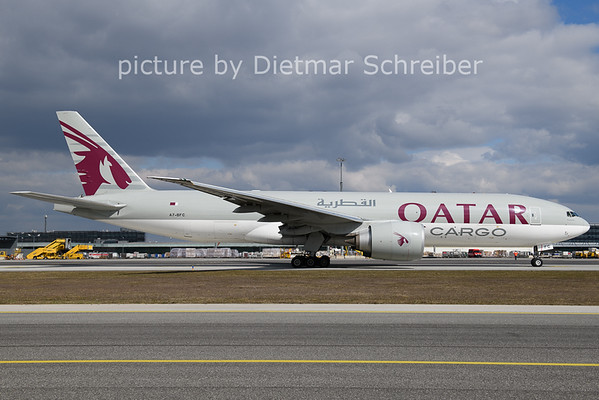 2021-03-17 A7-BFC Boeing 777-200 Qatar Airways