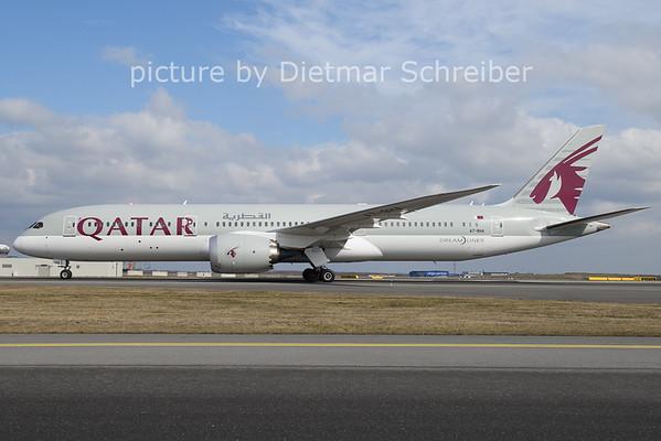 2021-03-08 A7-BHA Boeing 787-9 Qatar Airways