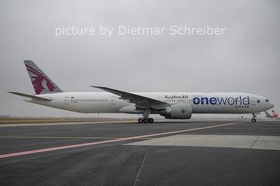 2020-12-16 A7-BAG Boeing 777-300 Qatar Airways