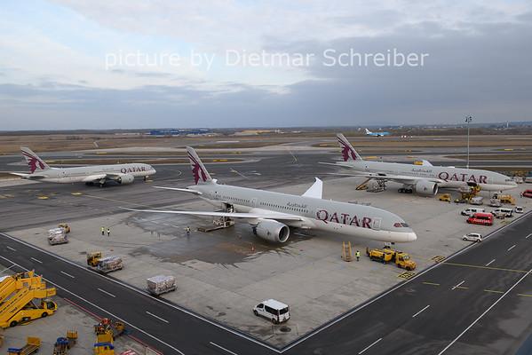 2021-01-31 A7-BHC Boeing 787-9 Qatar Airways