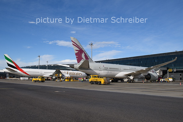 2021-01-22 A7-BCN Boeing 787-8 Qatar Airways