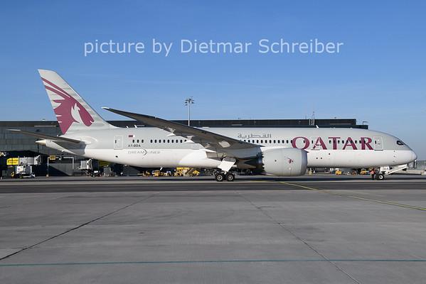 2021-03-07 A7-BDA Boeing 787-8 Qatar Airways
