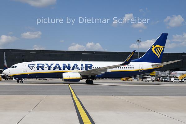 2021-07-19 SP-RSS Boeing 737-800 Ryanair