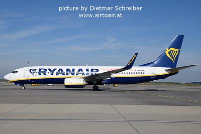 2021-10-17 9H-QCN Boeing 737-800 Ryanair