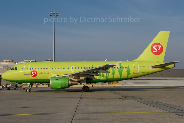 2017-11-07 VP-BTT Airbus A319 S7 Airlines
