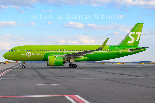 2021-03-28 VP-BTY Airbus A320neo S7 Airlines