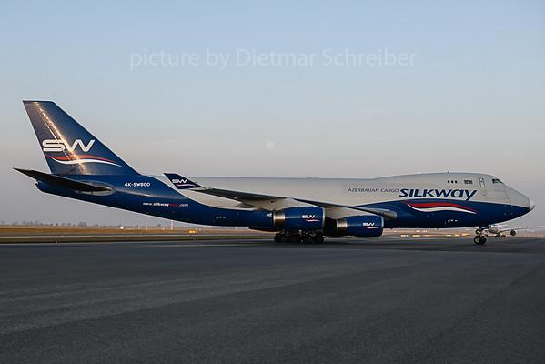 2019-10-15 4K-SW800 Boeing 747-400 Silkway