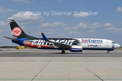 2021-07-19 TC-SPC Boeing 737-800 Sunexpress