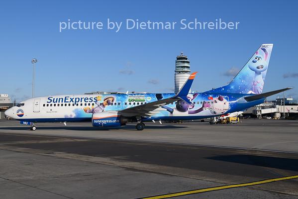 2020-01-05 TC-SNU Boeing 737-800 Sunexpress