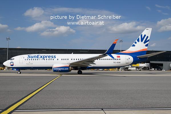 2021-08-20 TC-SOB Boeing 737-800 Sunexpress