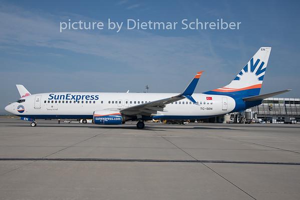 2019-08-05 TC-SEN Boeing 737-800 Sunexpress