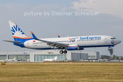 2021-07-14 TC-SON Boeing 737-800 Sunexpress