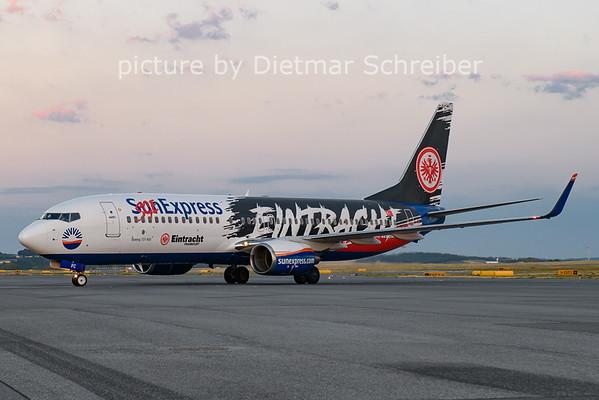2021-07-03 TC-SPC Boeing 737-800 Sunexpress