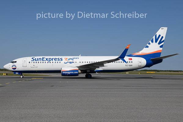 2020-09-20 TC-SEP Boeing 737-800 Sunexpress