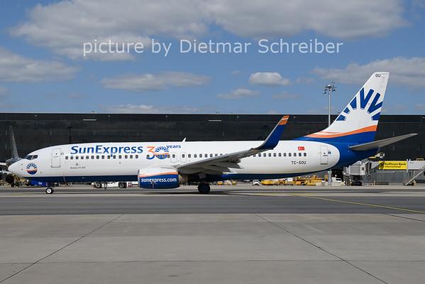 2021-08-25 TC-SOU Boeing 737-800 Sunexpress
