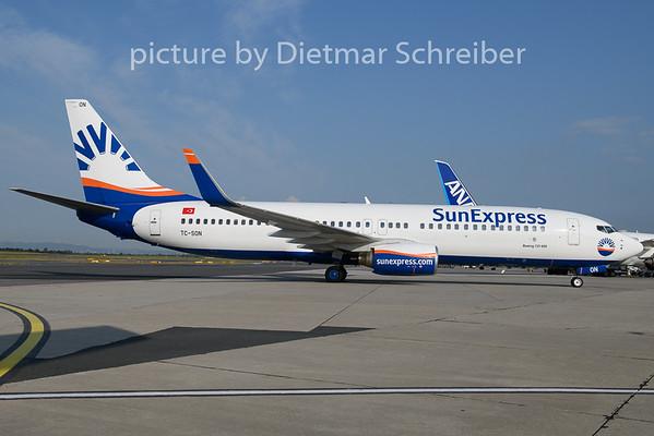 2019-07-18 TC-SON Boeing 737-800 Sunexpress