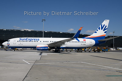 2019-04-22 TC-SEK Boeing 737-800 Sunexpress