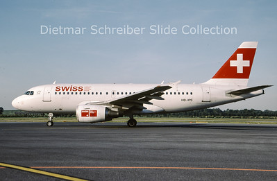 2009-05 HB-IPS Airbus A319-111 (c/n 734) Swiss