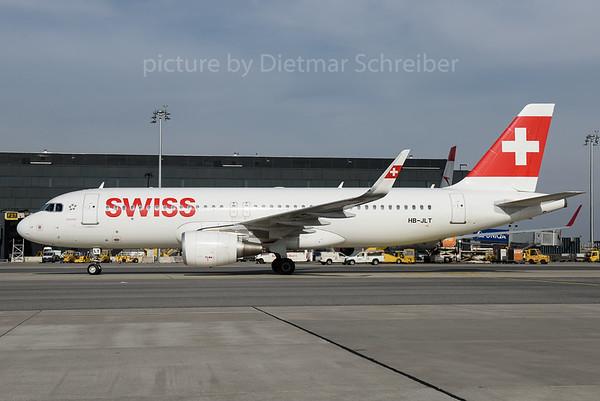 2016-10-14 HB-JLT Airbus A320 Swiss