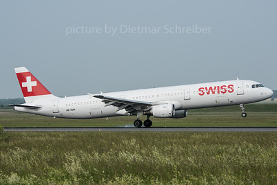 2016-05-26 HB-ION Airbus A321 Swiss