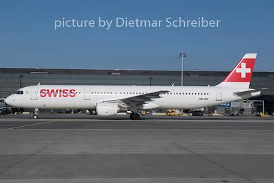2019-02-06 HB-IOK Airbus A321 Swiss