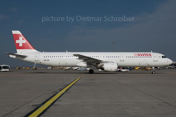 2016-03-23 HB-IOL Airbus A321 Swiss