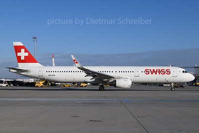 2017-12-18 HB-IOO AIrbus A321 Swiss