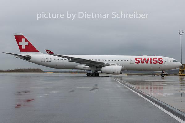 2015-03-30 HB-JHK Airbus A330-300 Swiss