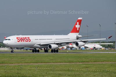 2018-04-29 HB-JMI Airbus A340-300 Swiss