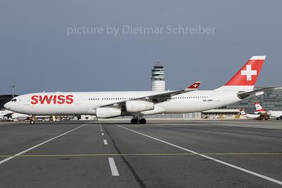 2018-04-12 HB-JMH Airbus A340-300 Swiss