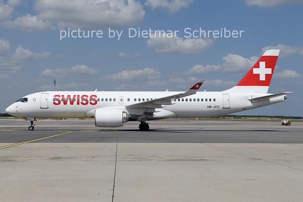 2021-07-19 HB-JCC Airbus A220-300 Swiss