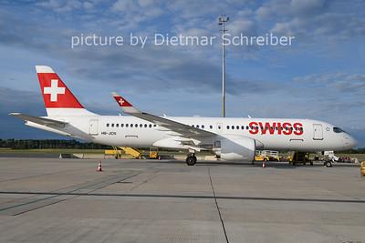 2021-08-03 HB-JCN Airbus A220-300 Swiss