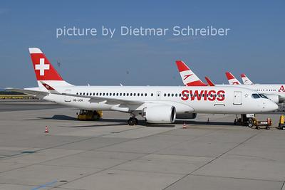 2021-07-28 HB-JCK Airbus A220-300 Swiss