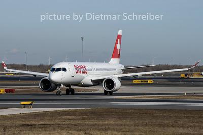 2020-02-13 HB-JCO Airbus A220-300 Swiss